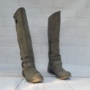 Madden Girl Wide Calf Boots